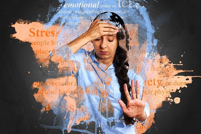 působení stresu