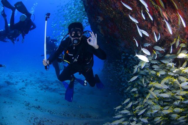 potápění hluboko