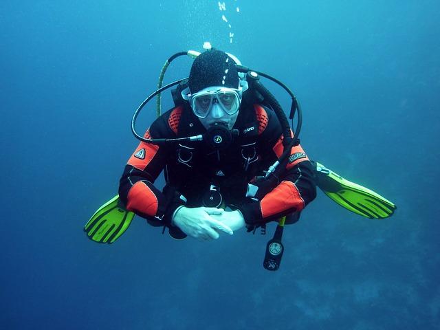 zábavné potápění
