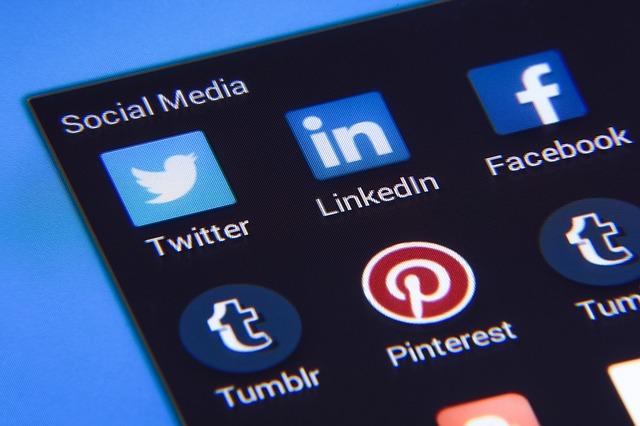 social-media ikony