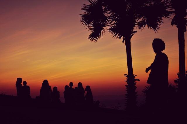 Západ slunce a reggae