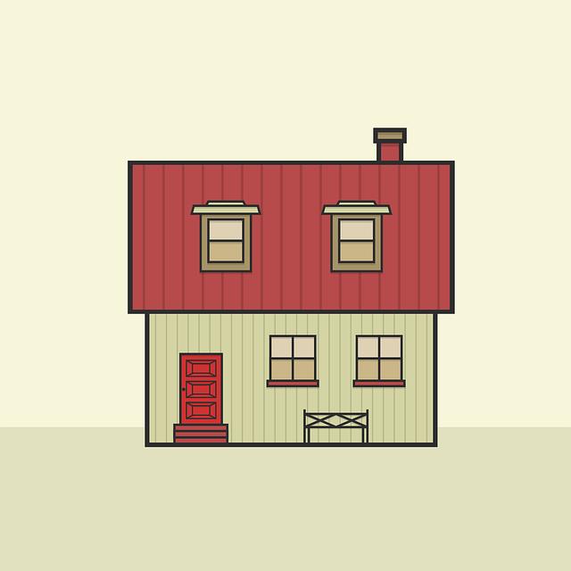 malý domek – ilustrace